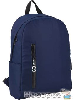 Рюкзак для города GoPack Сity унисекс 395 г 39 х 28.5 х 13 см 15 л Синий (GO20-156M-2)