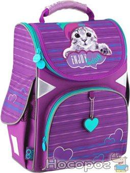 Рюкзак школьный GoPack Education каркасный GO20-5001S-5 Funny cat