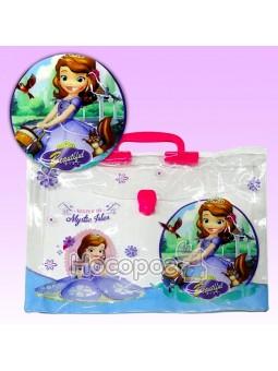 Портфель детский пластиковый Принцесса 210825