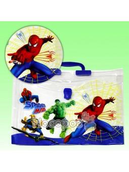 Портфель детский пластиковый 210826 Паук