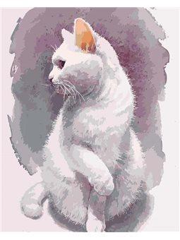 Картины по номерам - Нежный кот (КНО4181)