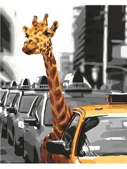 Картины по номерам - Жизнь в мегаполисе (КНО4178)