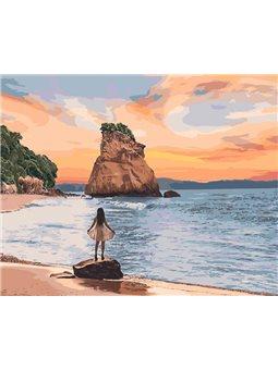 Картины по номерам - Необитаемый остров (КНО4727)