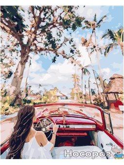 Картина по номерам Brushme 'Улицами Кубы' [GX24882]