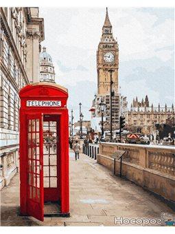 Картина по номерам Brushme 'Символы Лондона' [GX26716]