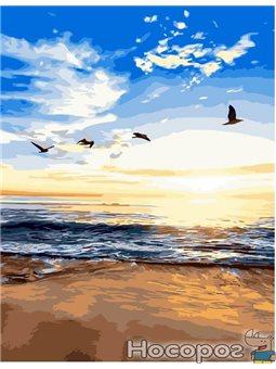 Картина по номерам Brushme 'Утренний пляж' [GX3329]