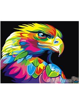 Картина по номерам Brushme 'Радужный орел' [GEX5329]
