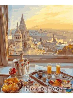 Картина по номерам Brushme 'Завтрак с видом на старый город' [GX29263]