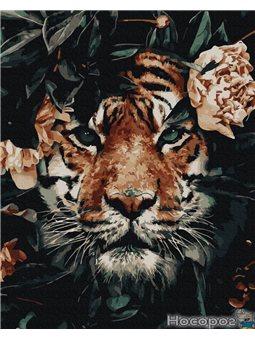 Картина по номерам Brushme 'Тигриный взгляд' [GX35628]