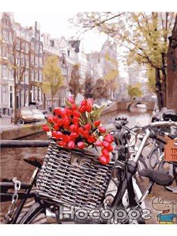 Картина по номерам Brushme 'Доставка тюльпанов в амстердаме' [GX29265]