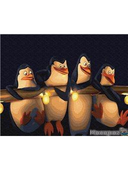 Картина по номерам Brushme 'Пингвины Мадагаскара' [GX22148]