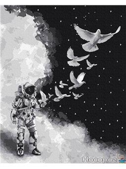 Картина по номерам Brushme 'Космический полёт' [GX35334]