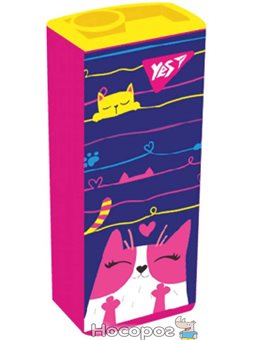 """Точилка YES прямоугольная """"Cats"""" [YS-3-1]"""