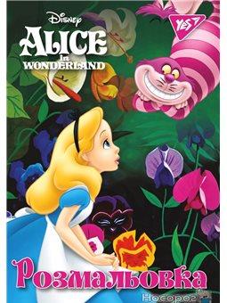 """Раскраска А4 YES """"Alice"""", 12 стр. [Y-CB-12]"""