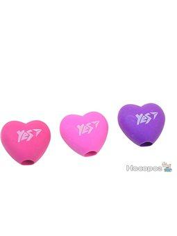 """Ластик-насадка на олівець YES """"Heart"""" 3 кол. / Уп. [560500]"""
