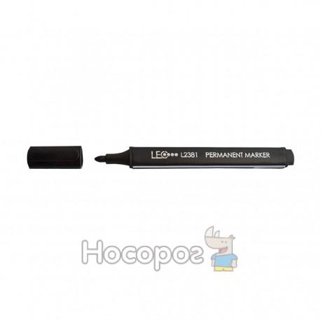 Маркер перманентный черный L2381-01
