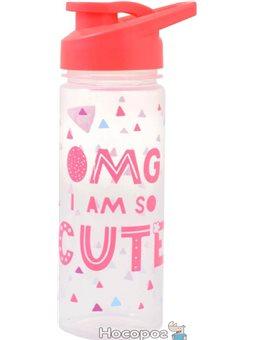 """Бутылка для воды YES """"OMG"""", 500 мл [YB-8-500]"""