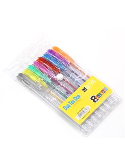 Ручки в наборе 8 цветов гель перламутр SP103-WP8 / M35-26 023171 (36)