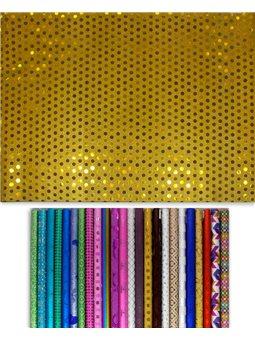 Бумага для упаковки подарков в рулонах, 50см * 70см., 1г. / Уп 398003