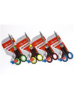 Ножницы офисные Лидер 9007С (15,5 см., Пласт.ручки, в ассорти) (12) 330 458