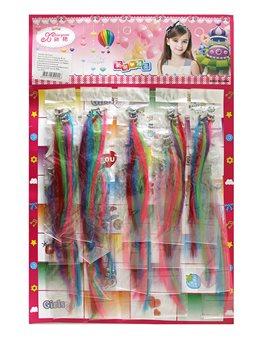 Косички для волос, 15см., Арт.3196, Имп