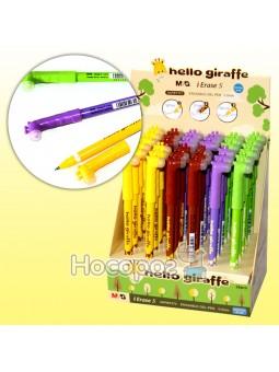Ручка пиши-стирай AKPB7372 синяя Hello Giraffe