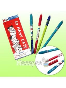 Ручка пиши-стирай AKPB1479 синяя So Many Cats