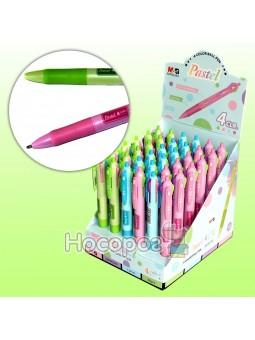 Ручка шариковая автомат ABP803R9 на 4 цвета
