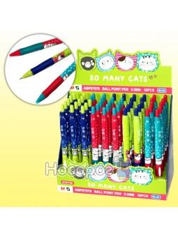 Ручка шариковая автомат ABP87679 Cats