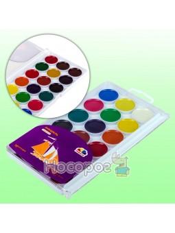 Краски Акварель Гамма Творчество 18 цветов без кисточки 400104