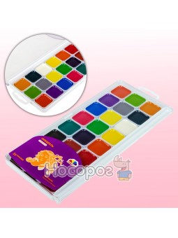 Краски Акварель Гамма Творчество 24 цвета 400106