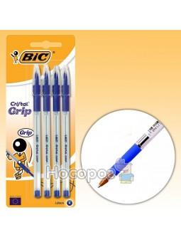 Ручка Кристал грип Синяя BIC 889985