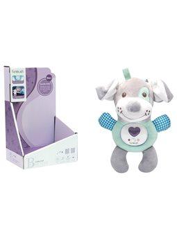 Собачка мягкая игрушка с музыкальными и световыми эффектами Funmuch