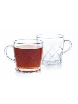 Сервиз чайный LUMINARC SWIVEL, 6 предметов [P8535]