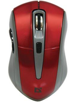Мышь Defender Accura MM-965 Wireless Red (52966)