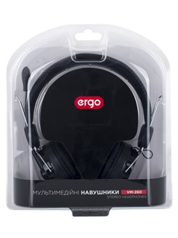 Гарнитура ERGO VM-260 Black [SM-HD260M.V]