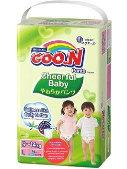 Трусики-подгузники Cheerful Baby для детей (L, 8-14 кг, унисекс, 48 шт) [843285]
