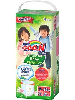 Трусики-подгузники Cheerful Baby для детей (XXL, 15-25 кг, унисекс, 34 шт) [843287]