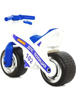 "Каталка-мотоцикл ""МХ"" (Полиция) POLESIE [8062"