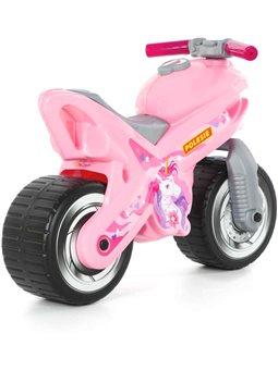 """Каталка-мотоцикл """"МХ"""" (розовая) POLESIE [80608]"""