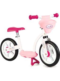 770125 Детский металлический биговел «Королла», розовый, 2+