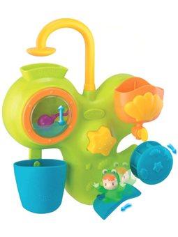 """211421 Игрушка для ванны Cotoons """"Водные развлечения"""", с бассейном, аквариумом и лягушка, 12 мес. +"""