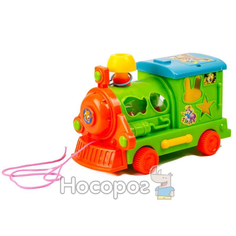 Фото Поезд TL 660 (с пазлами, 2 цвета, 22 * 13 см)