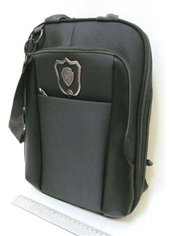 3902-В Рюкзак-сумка для ноутбука орг 38*30*5см, черн.