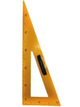 Треугольник 90 градусов, для школьной доски, 59 см, с Держатель, желтый E-SBA-3