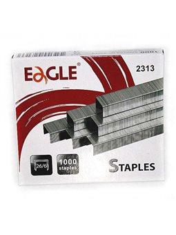 Скоба Eagle банковскому степлера металлическая 23/13, Мощность 100 листов 1000 шт / уп 2313