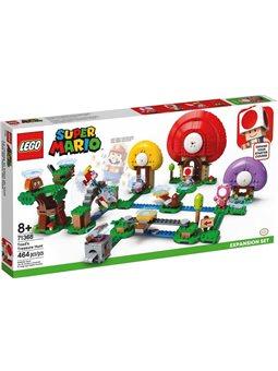 LEGO® Пошук скарбів із Тоадом. Додатковий рівень (71368)