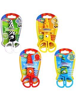 Ножиці Colorino Zoo дитячі пластикові асортимент (37275PTR)