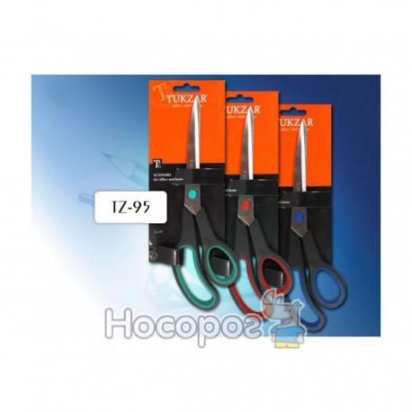 Ножиці TZ-95 пластикові ручки, 25см (12/120)