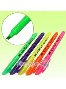 Текстовыделитель YES Neon 5 цветов в банке